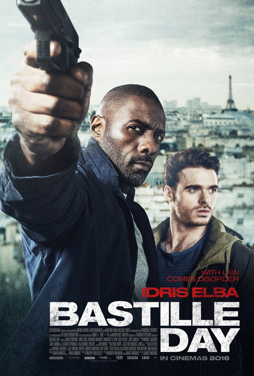 Bastille Day Trailer German