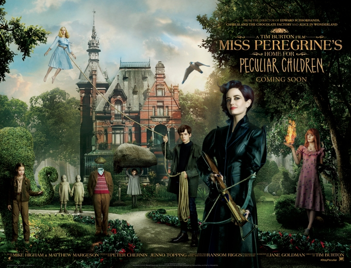Miss Peregrines Home for Peculiar Children Teaser Quad
