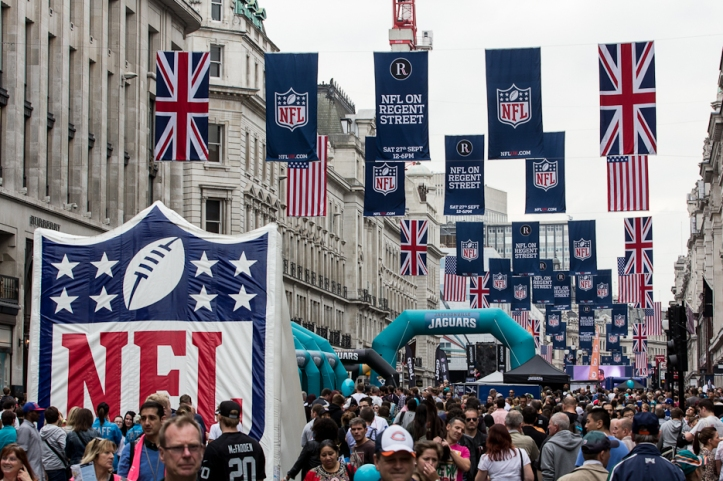NFL-on-Regent-St