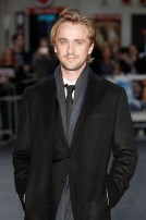 LONDON, ENGLAND - OCTOBER 05: Tom Felton attends the 'A United Kingdom' Opening Night Gala screening during the 60th BFI London Film Festival at Odeon Leicester Square on October 5, 2016 in London, England. (Photo by John Phillips/Getty Images) *** Local Caption *** Tom Felton