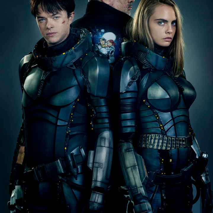 Dane DeHaan Cara Delevingne and Clive Owen