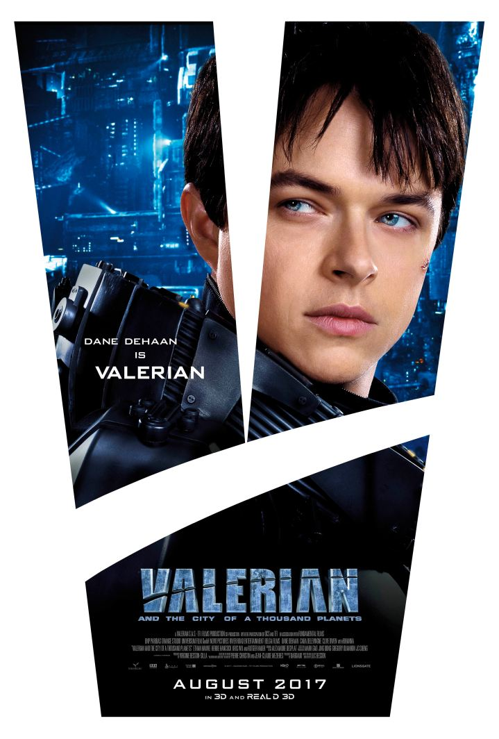 Dane DeHaan is Valerian