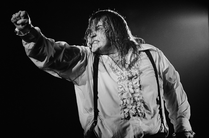 Meat Loaf On stage