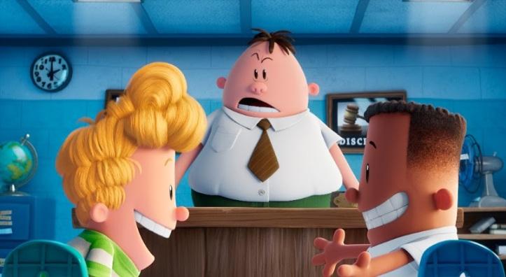dreamworks animation captain underpants epic movie new clip
